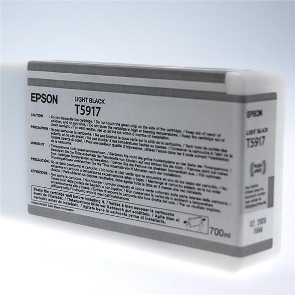 Epson črnilo T5917, 700 ml, light black