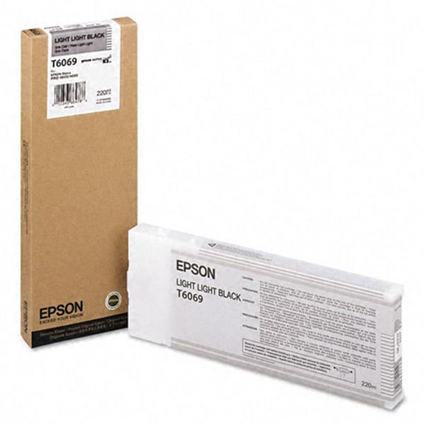 Epson črnilo T6069, 220 ml, light light black