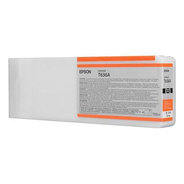Epson črnilo T636A, 700 ml, orange