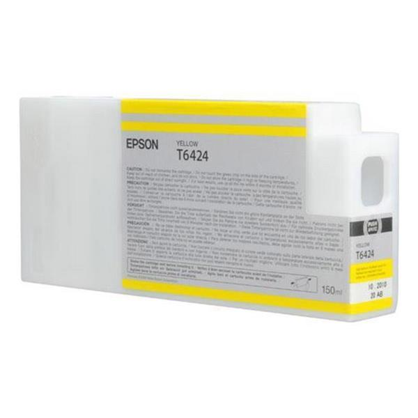 Epson črnilo T6424, 150 ml, yellow