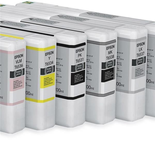 Epson črnilo T6538, 200 ml, matte black