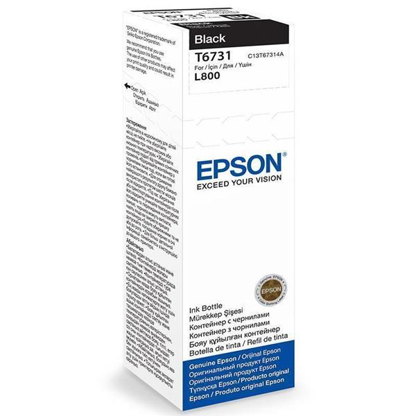 Epson črnilo T6731, 70 ml, black