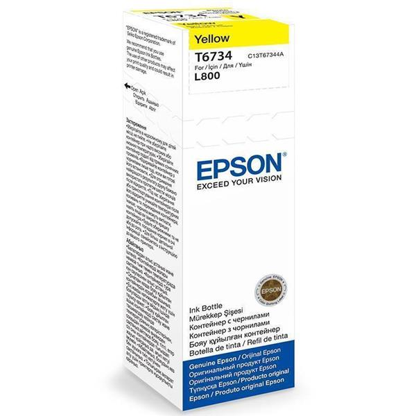 Epson črnilo T6734, 70 ml, yellow