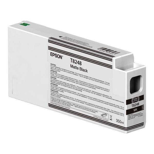 Epson črnilo T8248, 350 ml, matte black