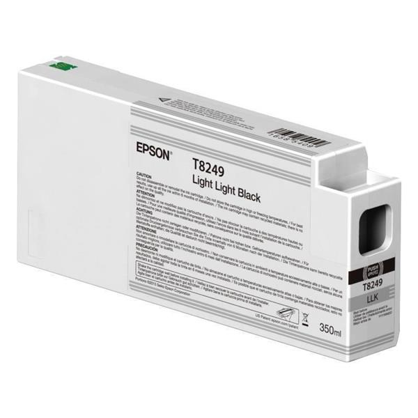 Epson črnilo T8249, 350 ml, light light black