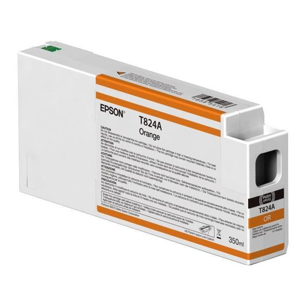 Epson črnilo T824A, 350 ml, orange