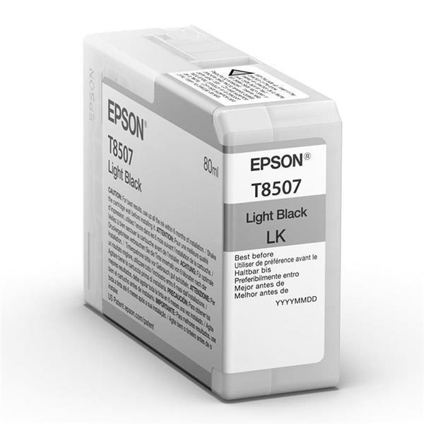 Epson črnilo T8507, 80 ml, light black