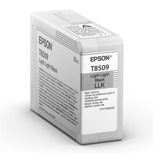 Epson črnilo T8509, 80 ml, light light black