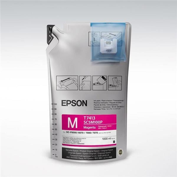 Epson črnilo UltraChrome DS Magenta, 1 l