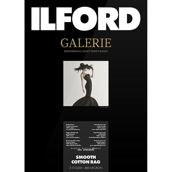ILFORD GALERIE Prestige Smooth Cotton Rag, A4, 25 listov