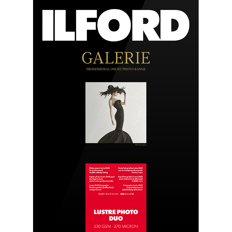 ILFORD GALERIE Lustre Photo Duo, 10 x 15, 50 listov