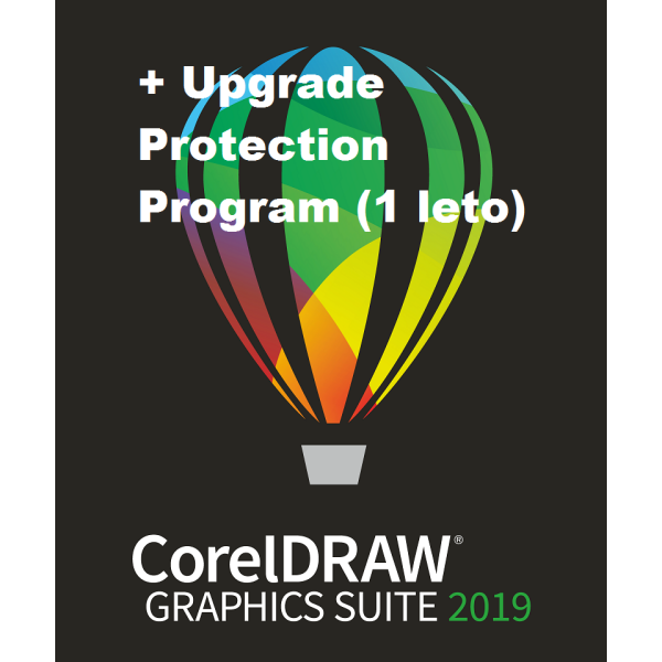 CorelDRAW Graphics Suite 2019 Mac + Upgrade Protection Program (1 leto)