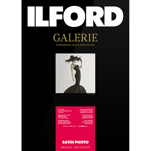 ILFORD GALERIE Prestige Satin Photo, A3+, 25 listov