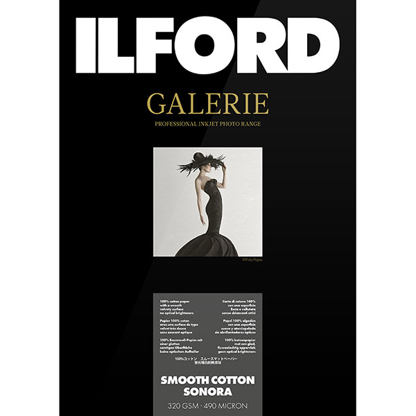 ILFORD GALERIE Smooth Cotton Sonora, A3, 25 listov