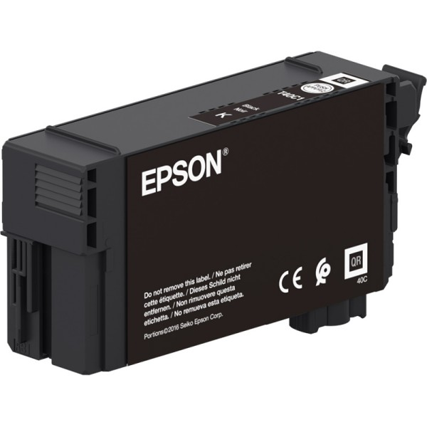 Epson črnilo T40C1, 50 ml, black
