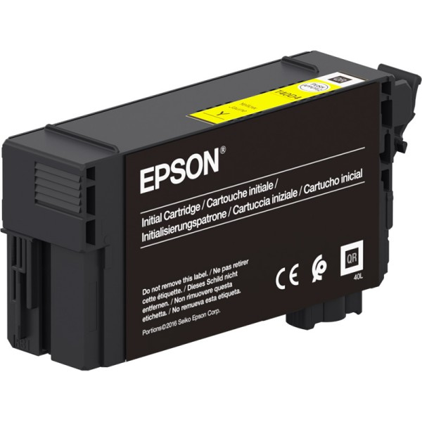 Epson črnilo T40C4, 26 ml, yellow